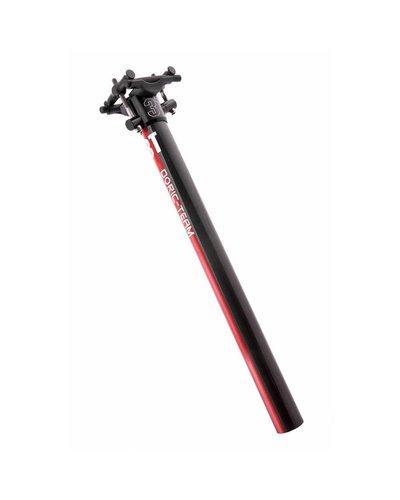 3T 3T Dorico Team Seatpost 27.2x350mm Red