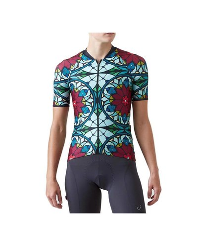 Velocio Velocio Stained Glass ES Jersey Wmns Beet