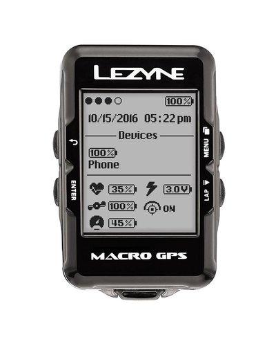 Lezyne Lezyne Macro GPS Blk