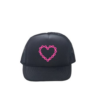 Incycle DH Wear Trucker Hat Chain Heart