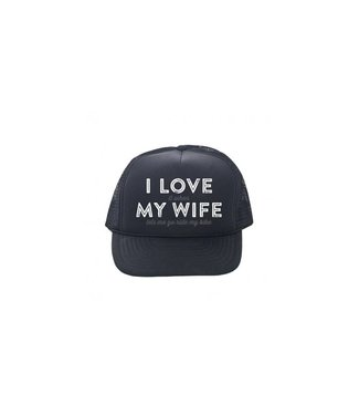 Incycle DH Wear Trucker Hat Love My Wife