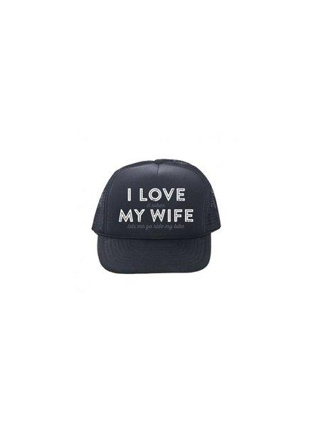 Incycle DH Wear Trucker Hat Love My Wife
