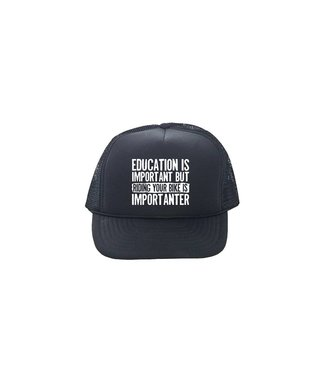 DH Productions DH Wear Trucker Hat Higher Education