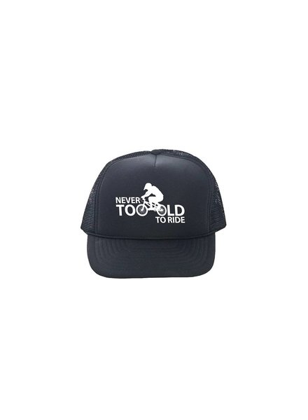 DH Wear Trucker Hat Never Too Old To Ride
