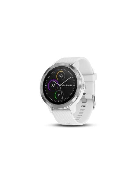 Garmin Garmin Vivoactive 3 GPS Smartwatch Wht/Stainless