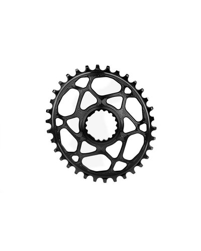 Absolute Black Absolute Black Oval DM Cannondale Hollowgram Chainring