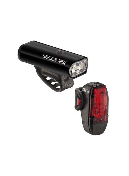 Lezyne Lezyne Lite Drive 700XL/KTV Pro Pair Blk/Hi Gls