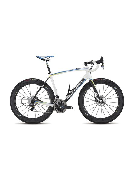 Specialized 2016 Specialized Roubaix SL4 Disc Power SE Met Wht/Sil/Carb/Blu 56