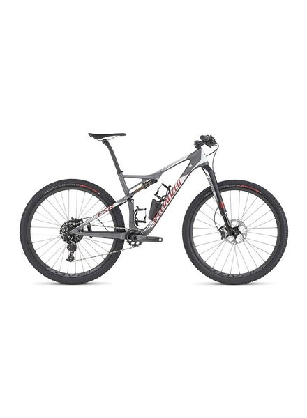 Specialized 2016 Specialized Epic FSR Pro Carbon WC 29 Char/Wht/Flo Red LG