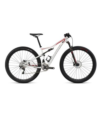 Specialized 2015 Specialized Era FSR Expert Carbon 29 Met Wht/Flo Red/Char MD