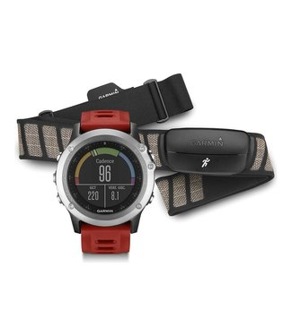 Garmin Garmin Fenix 3 GPS Multisport Training Watch Bundle w/HRM-Run