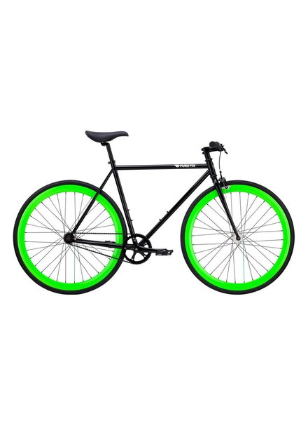 Pure Fix Cycles Pure Fix The Hotel Blk/Glow Grn LG/58