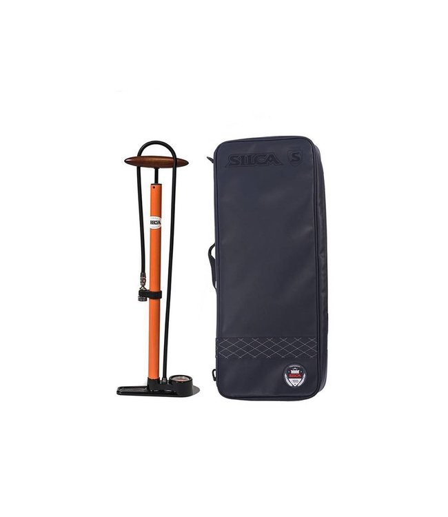 Incycle Bicycles - Silca Pista Pump w/Travel Bag - Incycle Bicycles