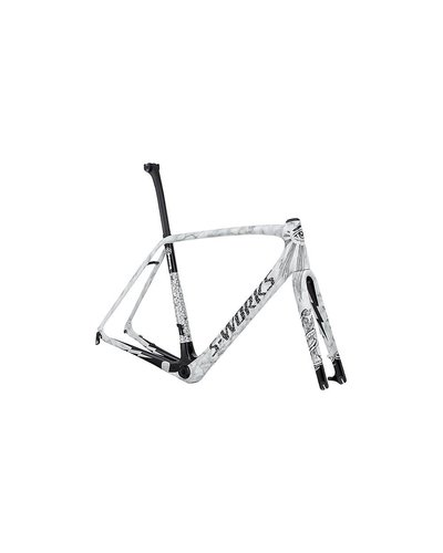 "2016 Specialized S-Works Tarmac Disc Frameset S-Build Illuminati 54 ""Module w/o Wheels"""