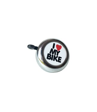 Incycle I Love My Bike Bell Sil