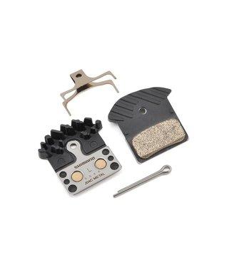 Shimano Shimano J04C Metal Disc Brake Pad and Spring w/ Fin