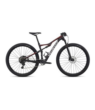 Specialized 2017 Specialized Era FSR Expert Carbon WC Red Tint Flake Carb/Nordic Red/Baby Blu MD