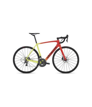 Specialized 2017 Specialized Tarmac Comp Disc Rkt Red/Team Yel/Tar Blk Fade 54