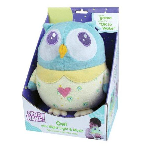 Ok to Wake Plush Owl