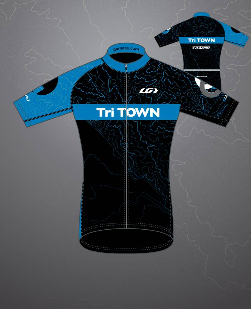 Tri Town 2018 Tri Town Team Cycling Jersey