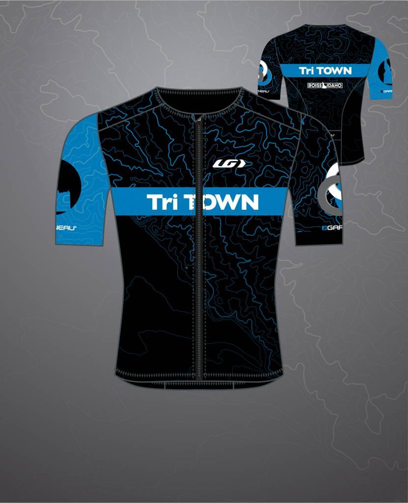 Tri Town 2018 Tri Town Team SS Tri Top