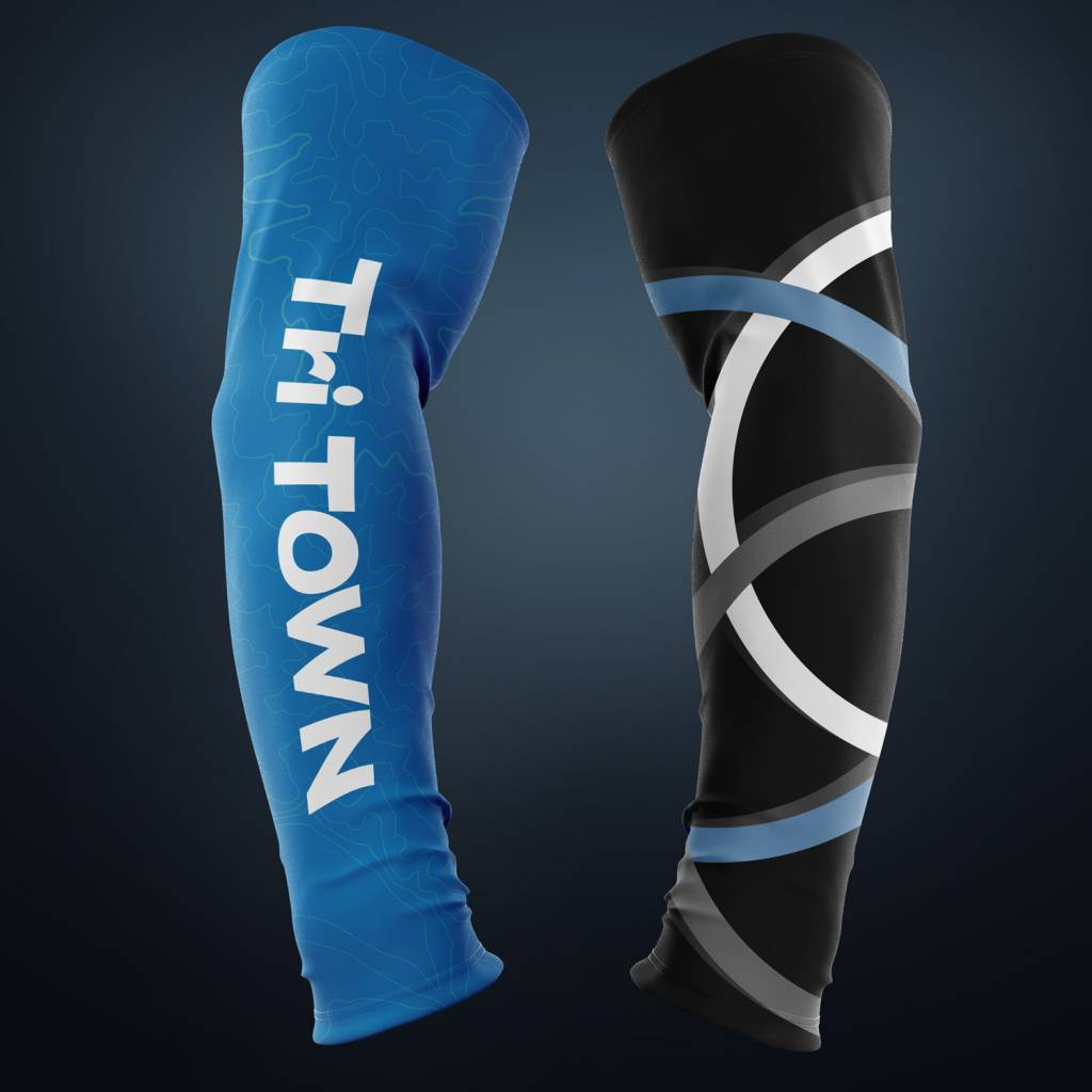 Tri Town 2018 Tri Town Team Arm Warmers