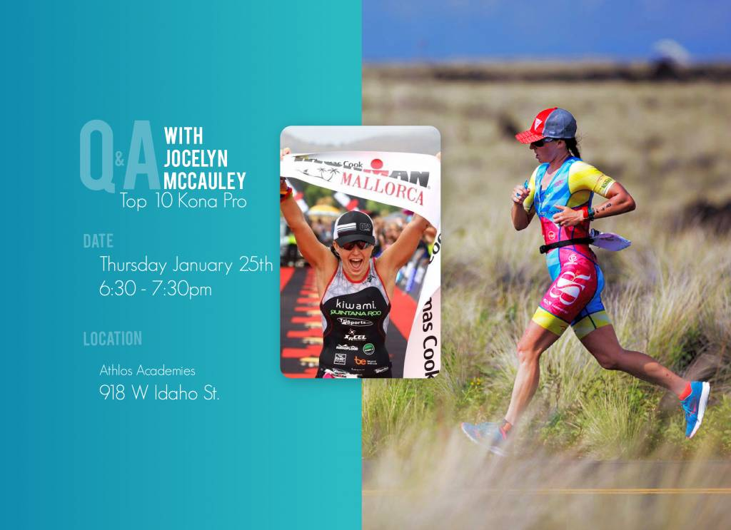 Q&A with Top 10 Kona Pro, Jocelyn McCauley