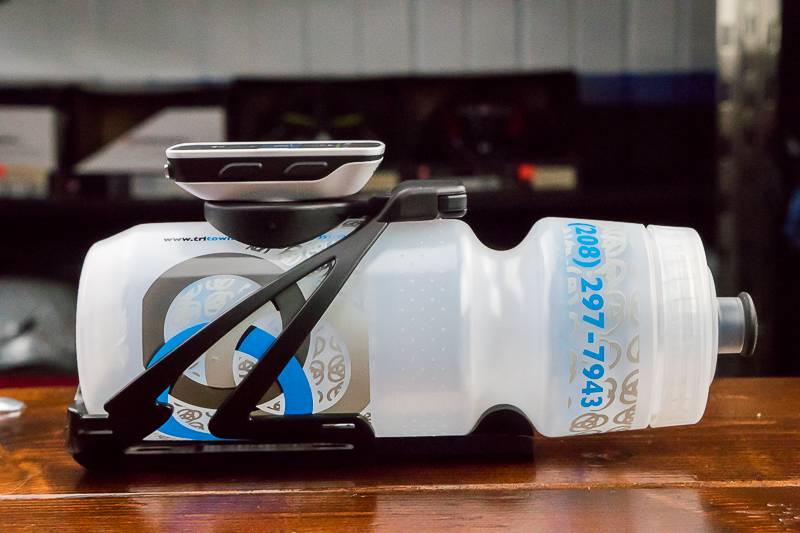 Speedfil Speedfil Z4 Water Bottle Cage/Garmin Mount