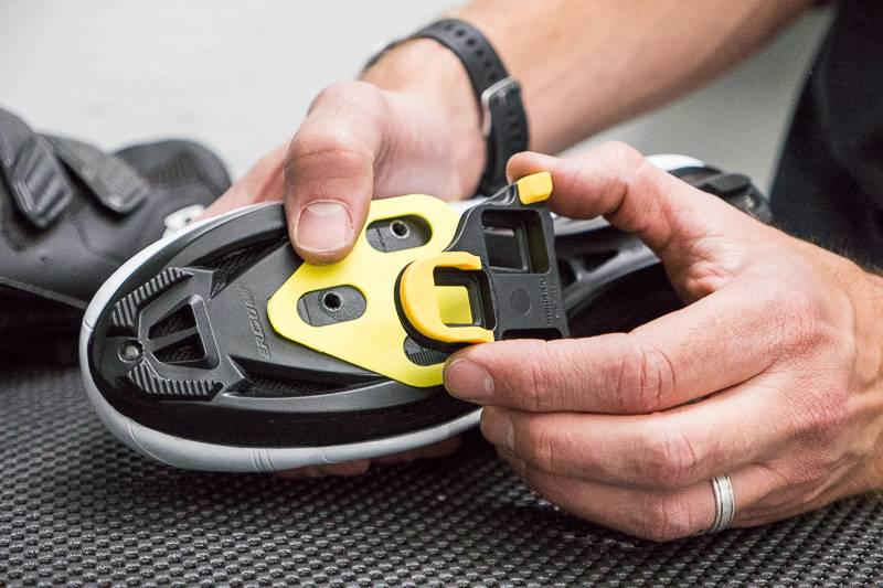 Tri Town Bicycle Cleat Fit