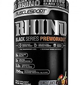 MuscleSport MS: Rhino Black Jungle Juice
