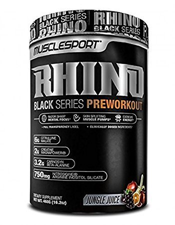 MuscleSport MS: Rhino Black Blue Demon