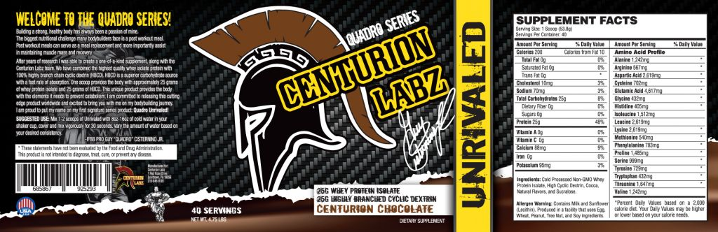 Centurion Centurion: Unrivaled Protein Chocolate