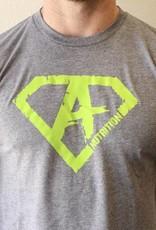 AN: Shirt Green/Grey XL
