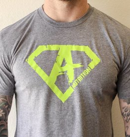 AN: Shirt Green/Grey XL