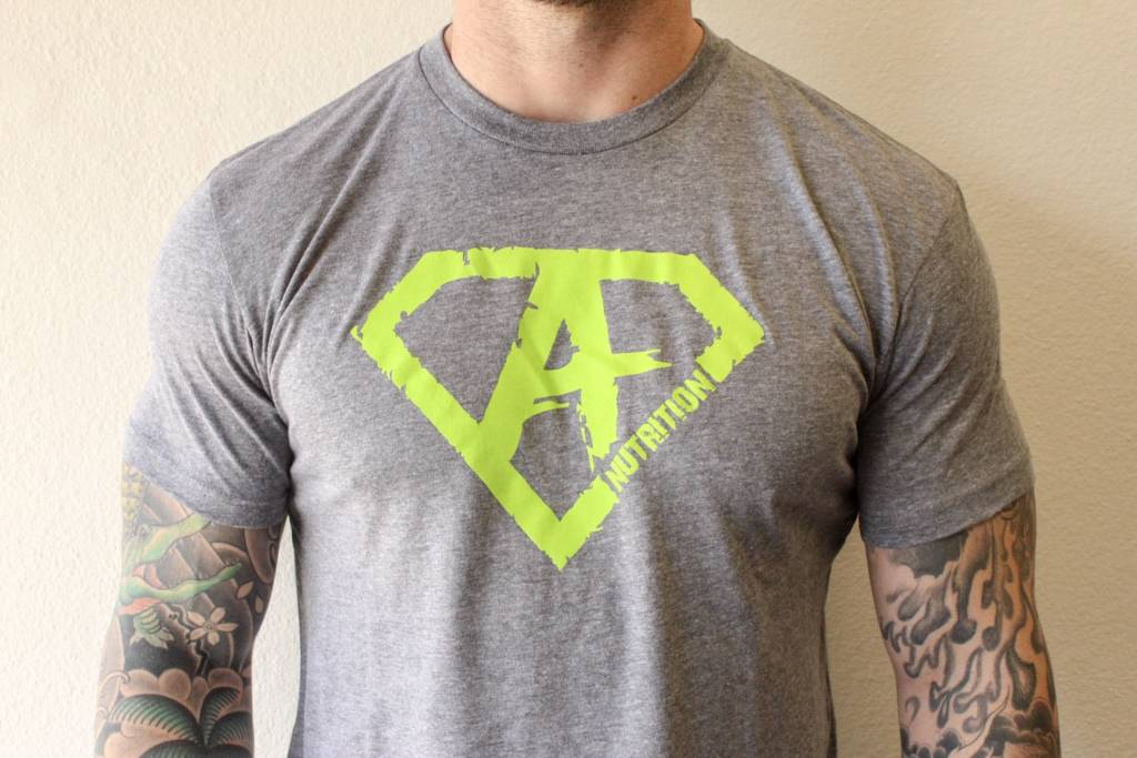 AN: Shirt Green/Grey XXL