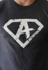 AN: Shirt Navy/White  XXL