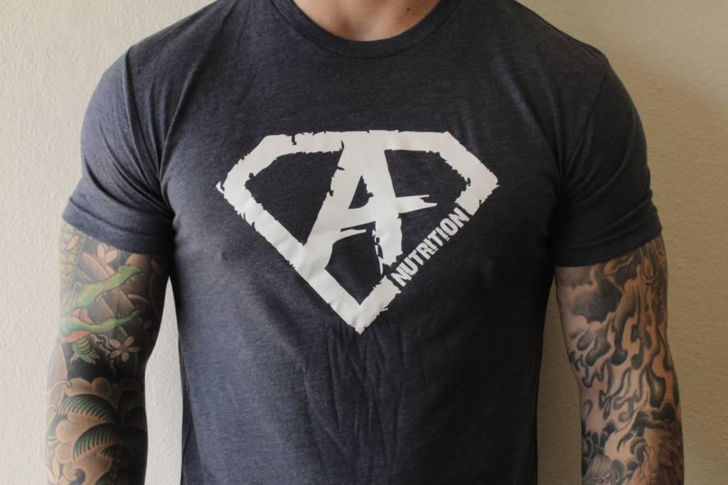 AN: Shirt Navy/White Large