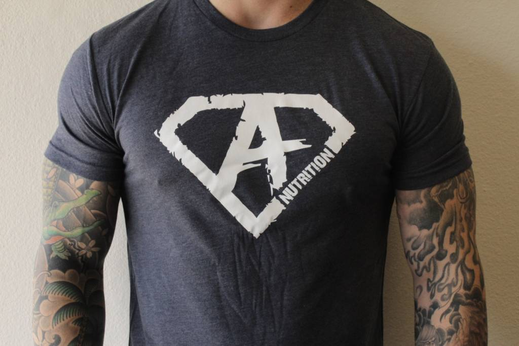 AN: Shirt Navy/White Small