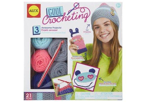 ALEX Toys Craft Cool Crocheting Kit