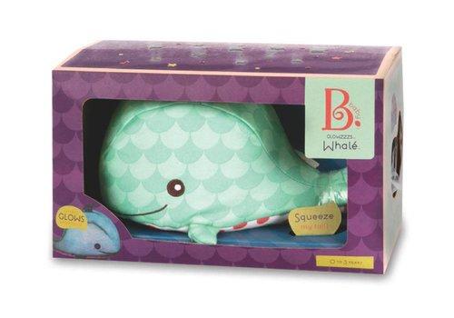 Battat / B brand B.Baby Baleine Whale Glow zzze