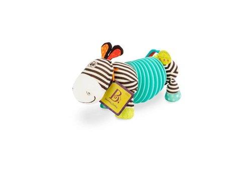 Battat / B brand Squeezy Zeeby-Soft accordeon Zebra