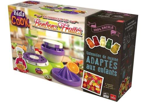 La fabrique de bonbons fruités