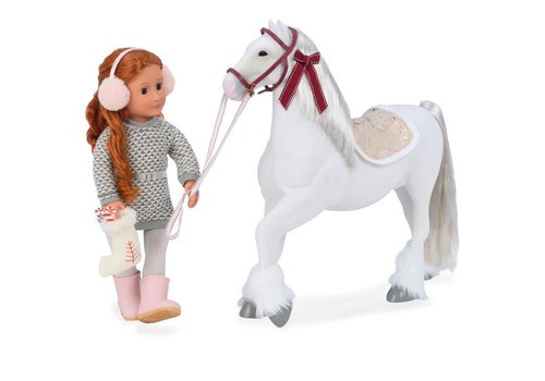 Our generation Our Generation - Cheval 50 cm Clydesdale