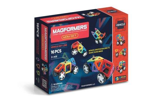 Magformers vehicle wow Set (16pcs)