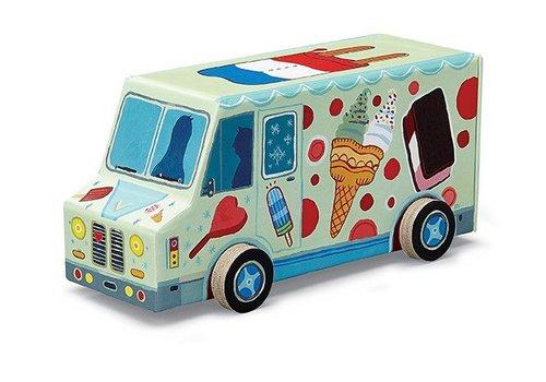 48 pc Vehicle Puzzle/Ice Cream Truck