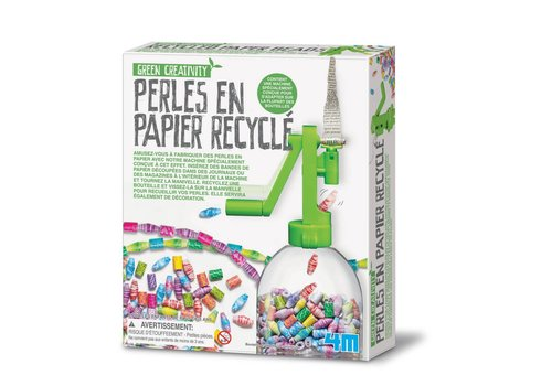 GREEN CREATIVITY Perles en papier recyclé