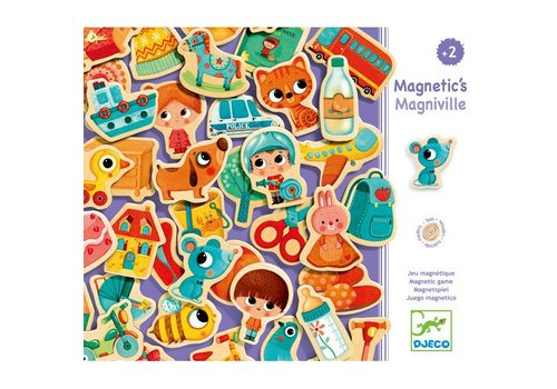 Djeco Magnetic's / Magniville