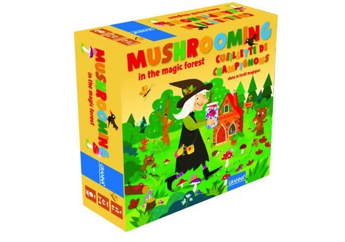 Mushrooming in magic forest