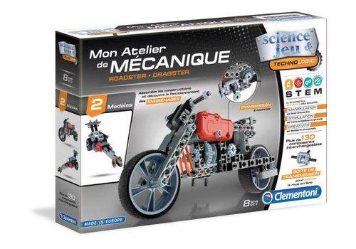 Clementoni Mon atelier de mecanique : Roadster & Dragster