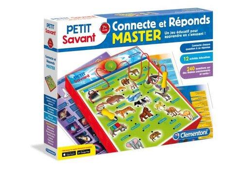 Clementoni Petit Savant : Connecte et Repond MASTER